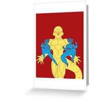 DBZ Resurrection 'F' Greeting Card
