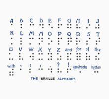 The Braille Alphabet. Kids Clothes