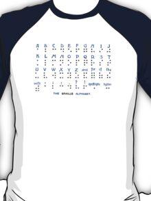 The Braille Alphabet. T-Shirt