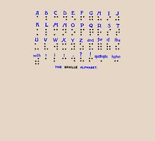 The Braille Alphabet. Unisex T-Shirt