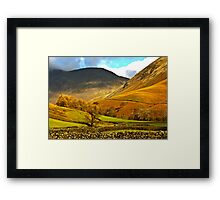 Autumn in Wasdale - Lake District Framed Print