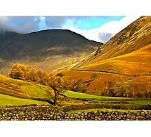 Autumn in Wasdale - Lake District Photographic Print