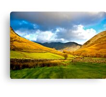 The Path through the Valley Canvas Print