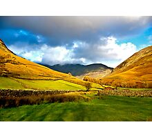 The Path through the Valley Photographic Print