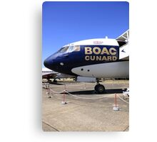 1960s BOAC Vickers VC10 airliner  Canvas Print