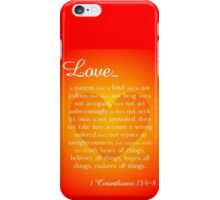 Love Is iPhone Case/Skin