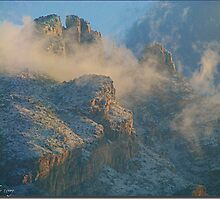 Lunar Scape in the Catalinas by Terry Temple