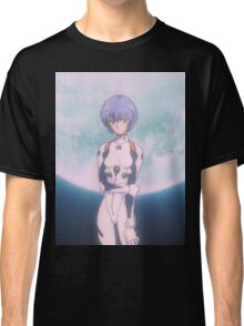 Neon Genesis Evangelion - Rei Ayanami Moon - 2015 1080p Blu-Ray Cleaned Upscales Classic T-Shirt