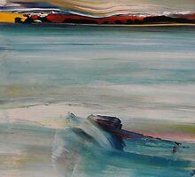 Resting Site - On Hopetoun Beach, Western Australia by Carollyn Rhodes-Thompson