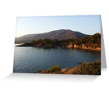 Aegean coast,Izmir Greeting Card