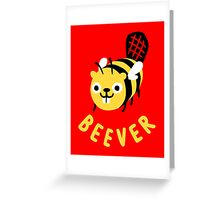Beever Greeting Card