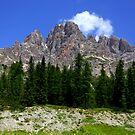 Monte Cristallo  by annalisa bianchetti