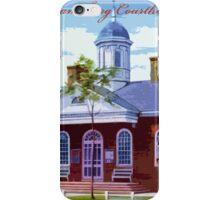 Williamsburg Courthouse iPhone Case/Skin