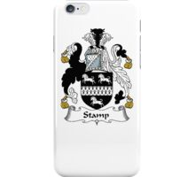 Coat of arms (family crest) for last-name or surname Stamp . Heraldry banner for your name. iPhone Case/Skin