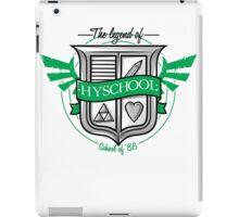 Hyrule Hyschool iPad Case/Skin