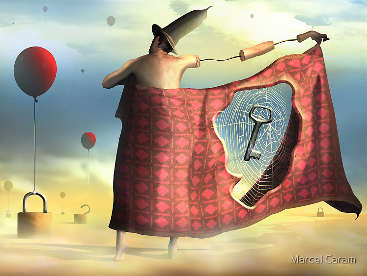 A Chave e os Cadeados. by Marcel Caram