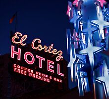 The El Cortez Sign by motelgeorge