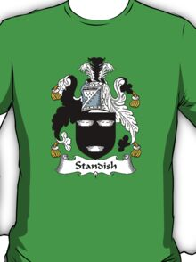 Coat of arms (family crest) for last-name or surname Standish . Heraldry banner for your name. T-Shirt