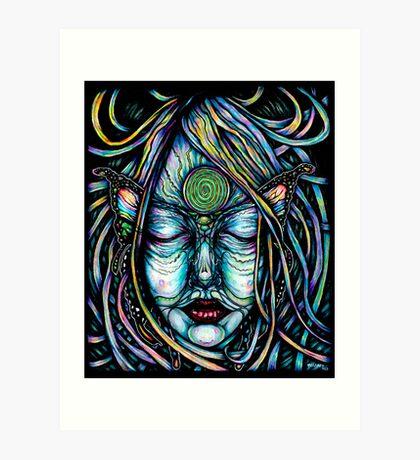 Butterfly/Metamorphasis - Traditional work Art Print