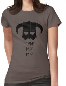 Fus Ro Womens Fitted T-Shirt