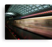 Swoosh, DC Metro Canvas Print