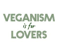 veganism is for lovers by conscience