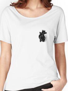 Jet Black Heart 2 Women's Relaxed Fit T-Shirt