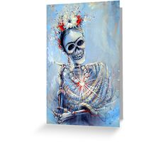 Corazon de Frida Greeting Card