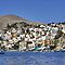 Houses on Symi by Tom Gomez