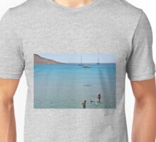 Swimming the dog Unisex T-Shirt