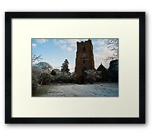 St Edburga church, Leigh, Worcestershire Framed Print