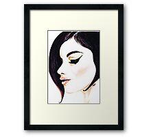Classy Lady Framed Print