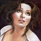 Angham, the Egyptian diva by Lubna