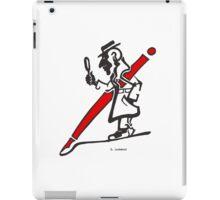 "D. Lockwood - ""Close Inspection"" iPad Case/Skin"