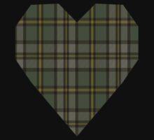 00110 Cape Breton (yellow stripes) District Tartan  One Piece - Short Sleeve
