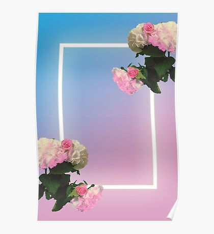 Blue/Pink the 1975 Poster