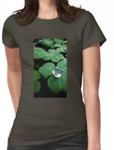 Flower Saga -  Clover Womens Fitted T-Shirt