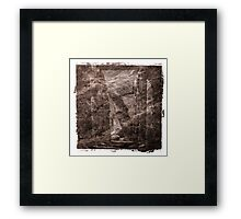 The Atlas of Dreams - Plate 16 Framed Print