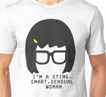 Tina Belcher: I'm a Sting, Smart, Sensual Woman (Simple Print) Unisex T-Shirt