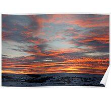 Sunset 10 dec 10 - 16:45 Poster