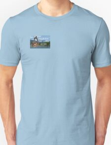 Not all Those who Wander are Lost, Tolkien, LOTR (scenic background) T-Shirt