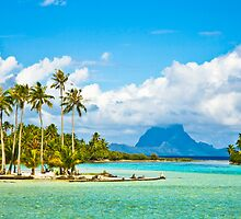 Bora Bora Dreaming by Angelina Hills