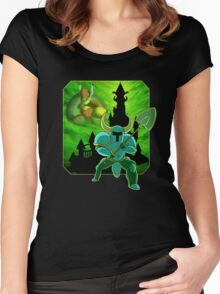Onward To The Tower of Fate! Women's Fitted Scoop T-Shirt