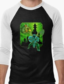 Onward To The Tower of Fate! Men's Baseball ¾ T-Shirt