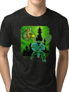 Onward To The Tower of Fate! Tri-blend T-Shirt