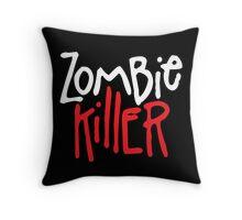 Zombie Killer Throw Pillow