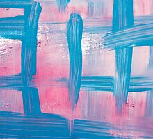 Impulse Abstract Painting by Christina Rollo