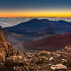 Stunning Sunrise View at the Haleakala Volcano by hawkeye978