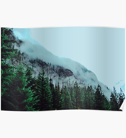 Mist Over The Mountain Poster