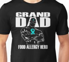 GRAND DAD Food Allergy Hero Unisex T-Shirt